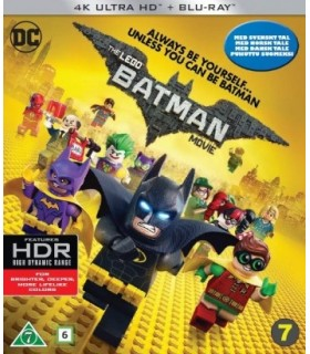 The LEGO Batman Movie (2017) (4K UHD + Blu-ray)
