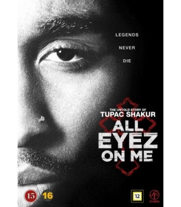 All Eyez on Me (2017) DVD
