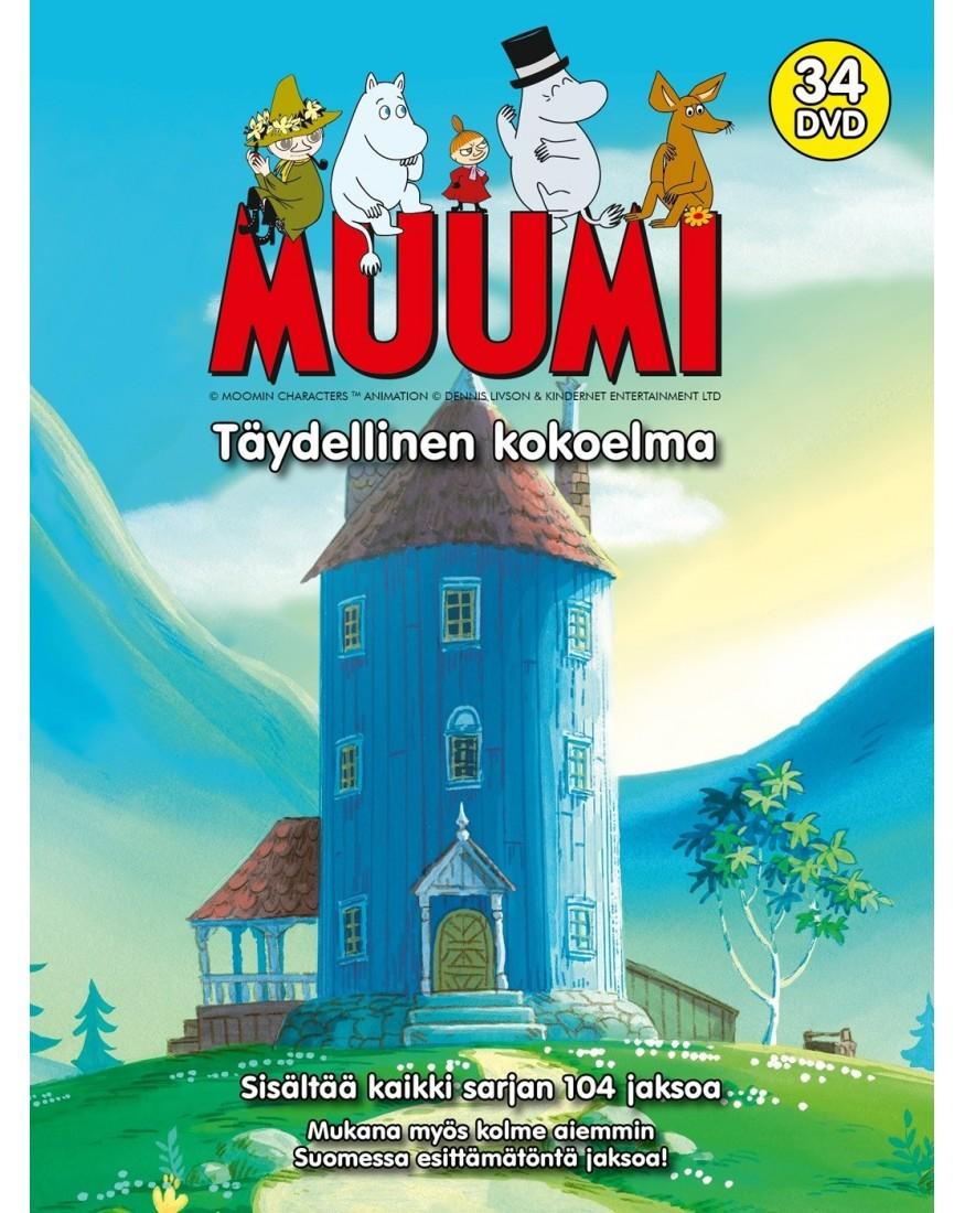 Vanhat Muumit Dvd