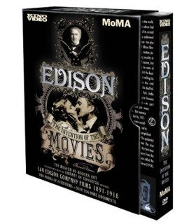Edison: Invention of the Movies (4DVD)