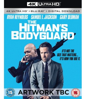 The Hitman's Bodyguard (2017) (4K UHD + Blu-ray) 13.12.