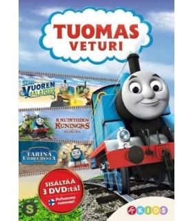 Tuomas Veturi - Box 1. (2012 - 2014) (3 DVD)