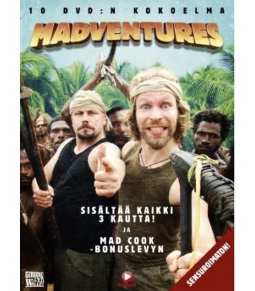 Madventures - Kokoelam (2002– 2009) (10 DVD)
