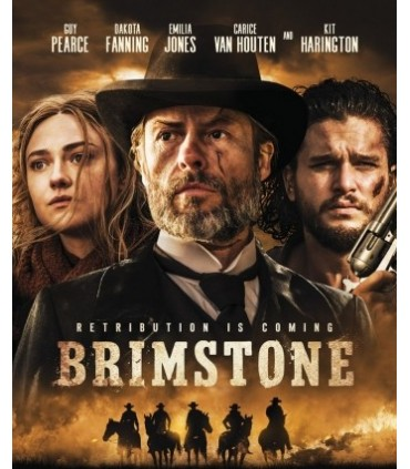 Brimstone (2016) Blu-ray