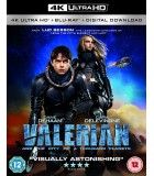 Valerian and the City of a Thousand Planets (2017) (4K UHD + Blu-ray)