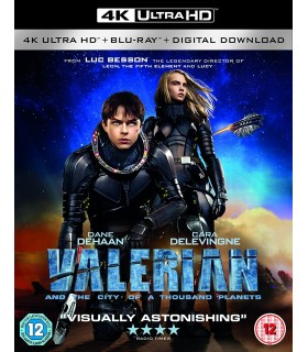 Valerian and the City of a Thousand Planets (2017) (4K UHD + Blu-ray) 29.11.