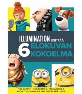 Illumination - Kokoelma (6 DVD) 13.11.