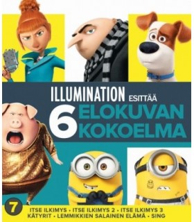 Illumination - Kokoelma (6 Blu-ray) 13.11.