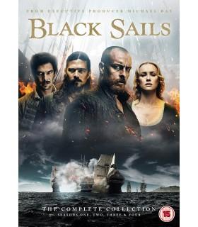 Black Sails - Season 1-4. (2014– ) (14 DVD) 15.1.