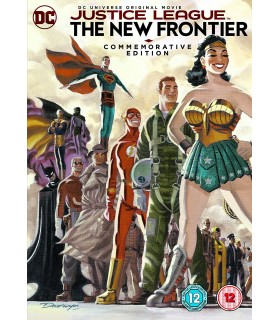 Justice League: The New Frontier (2008) Commemarotive Edition DVD 12.3.