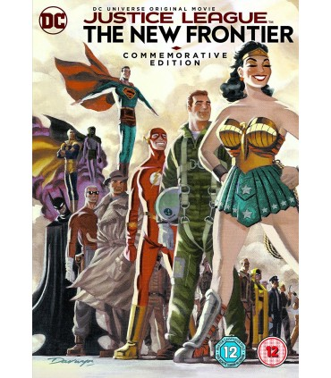 Justice League: The New Frontier (2008) Commemarotive Edition DVD