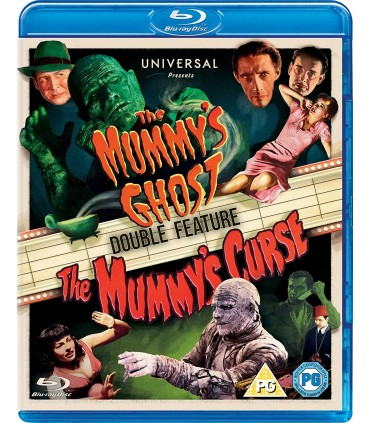 The Mummy's Ghost (1944) / The Mummy's Curse (1944) Blu-ray