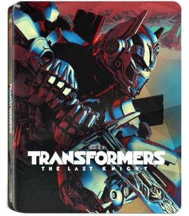 Transformers: The Last Knight (2017) Steelbook (3D + 2D + Blu-ray)