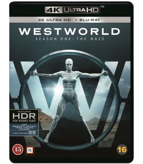Westworld - Kausi 1 (2016– ) (3 4K Ultra HD + 3 Blu-ray) 13.11.