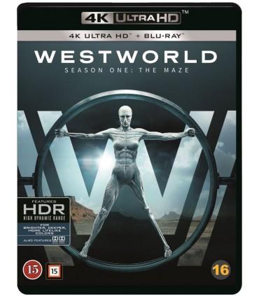 Westworld - Kausi 1 (2016– ) (3 4K Ultra HD + 3 Blu-ray)