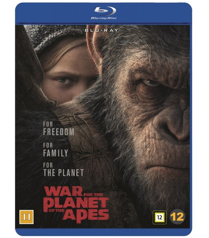 War for the Planet of the Apes (2017) Blu-ray