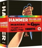 Hammer Volume One: Fear Warning (1963 - 1965) (4 Blu-ray)