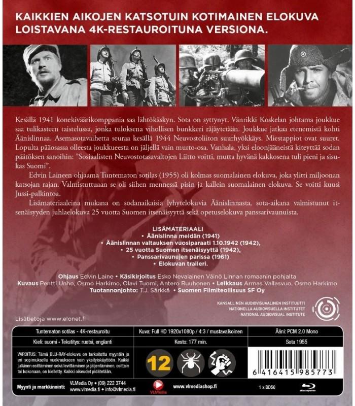 Tuntematon sotilas (1955) Blu-Ray