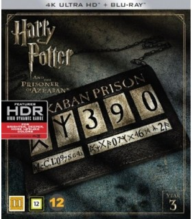 Harry Potter and the Prisoner of Azkaban (2004) (4K UHD + Blu-ray)