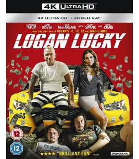 Logan Lucky (2017) (4K UHD + Blu-ray) 8.1.