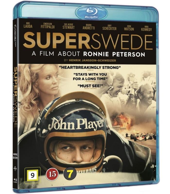 Superswede: En film om Ronnie Peterson (2017) Blu-ray 15.1.
