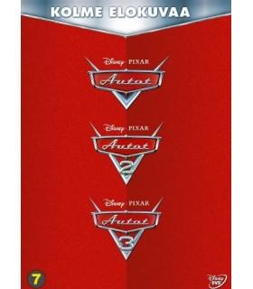 Autot 1-3 kokoelma (2006 - 2017) (3 DVD)
