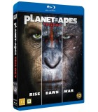 Planet of the Apes - Trilogy Collection (2001 - 2017) (3 Bu-ray)