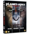 Planet of the Apes - Trilogy Collection (2001 - 2017) (3 DVD)