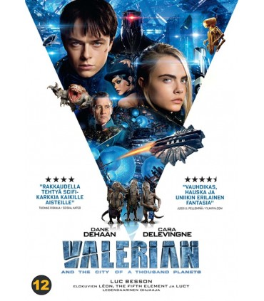 Valerian and the City of a Thousand Planets (2017) DVD