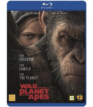 War for the Planet of the Apes (2017) (3D + 2D Blu-ray)
