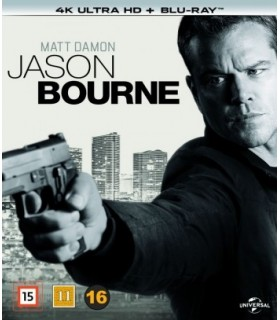 Jason Bourne (2016) (4K UHD + Blu-ray)