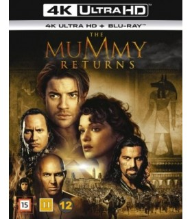 The Mummy Returns (2001) (4K UHD + Blu-ray)