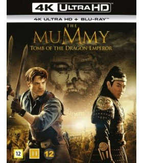 The Mummy: Tomb of the Dragon Emperor (2008) (4K UHD + Blu-ray)