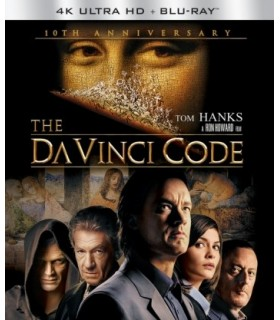 The Da Vinci Code (2006) 10th Anniversary Edition (4K UHD + Blu-ray)