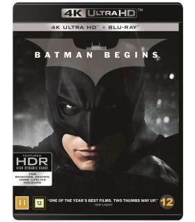 Batman Begins (2005) (4K UHD + Blu-ray) 4.12.