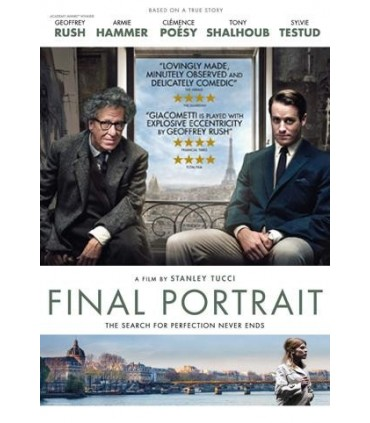 Final Portrait (2017) Blu-ray