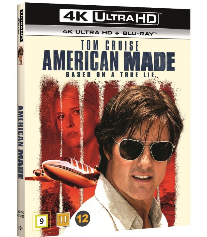 American Made (2017) (4K UHD + Blu-ray) 22.1.