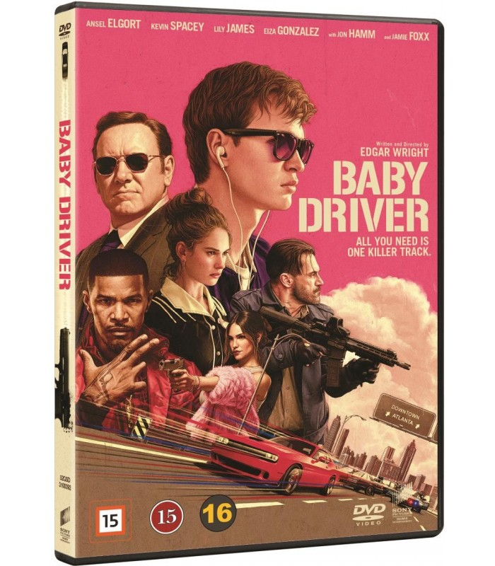Baby Driver (2017) DVD 11.12.