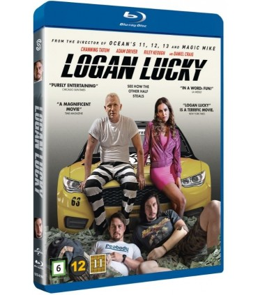 Logan Lucky (2017) Blu-ray