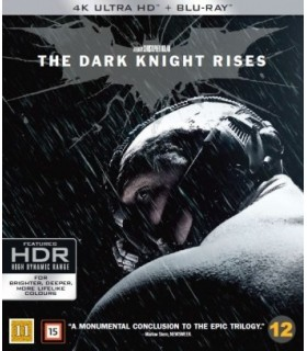 The Dark Knight Rises (2012) (4K UHD + Blu-ray)