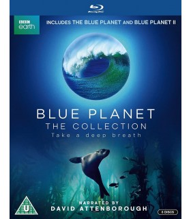 Blue Planet: The Collection (2001 / 2017) (6 Blu-ray)
