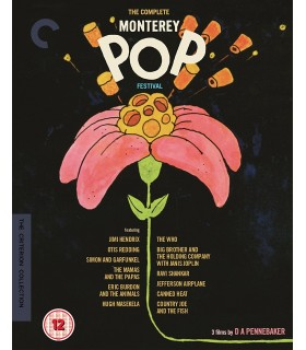 Monterey Pop (1968) The Complete Collection (3 Blu-ray)