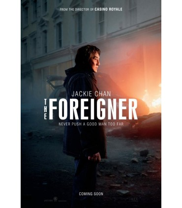 The Foreigner (2017) DVD