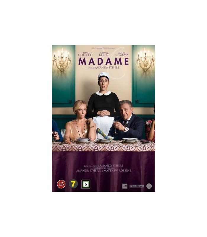 Madame (2017) DVD 8.1.