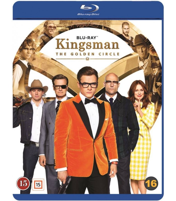 Kingsman: The Golden Circle (2017) Blu-ray 5.2.