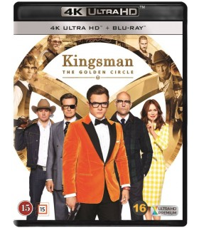Kingsman: The Golden Circle (2017) (4K UHD + Blu-ray) 5.2.