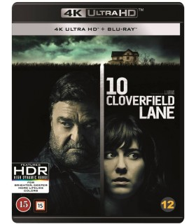 10 Cloverfield Lane (2016) (4K UHD + Blu-ray) 29.1.