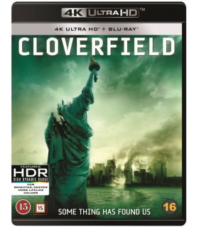 Cloverfield (2008) (4K UHD + Blu-ray) 29.1.