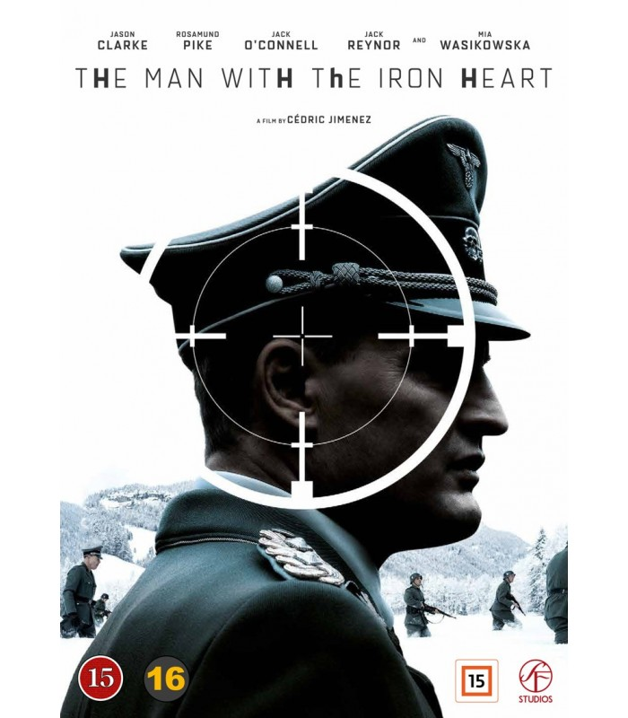 The Man with the Iron Heart (2017) DVD 19.2.