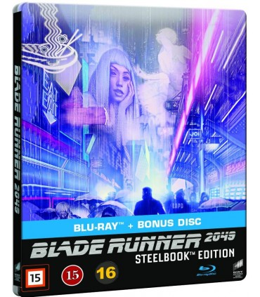 Blade Runner 2049 (2017) Steelbook (3 Blu-ray)